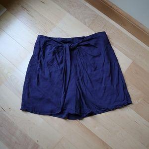 Anthropologie Hei Hei Linen Blend Shorts